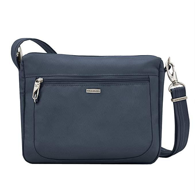 Travelon Anti-Theft Classic Small Crossbody. Image via Amazon.