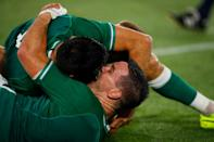 Ireland's forwards powered them to victory over Six Nations rivals Scotland (AFP Photo/Odd ANDERSEN)