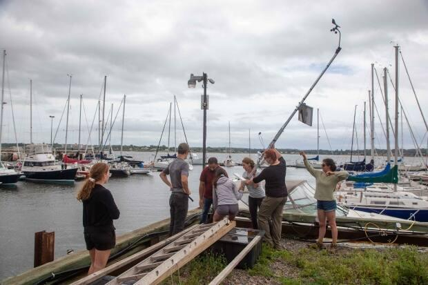 There are also recreational users hosting the weather stations, including golf courses, the ski hill at Brookvale and the Charlottetown Yacht Club.   (Don Jardine/UPEI  - image credit)