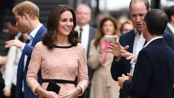 PHOTO: Britain's Catherine, Duchess of Cambridge attends a charity event with other members of the royal family at Paddington train station in London on Oct. 16, 2017. (Chris J. Ratcliffe/AFP/Getty Images)