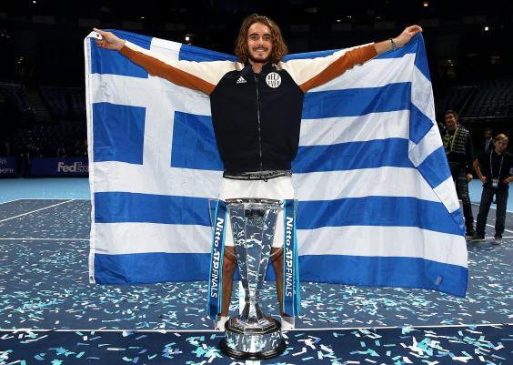 The Greek is the youngest ever winner of the Finals (Getty)