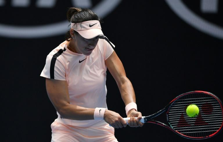 France's Caroline Garcia proved too strong for Belarussian Alaksandra Sasnovich, winning in three sets
