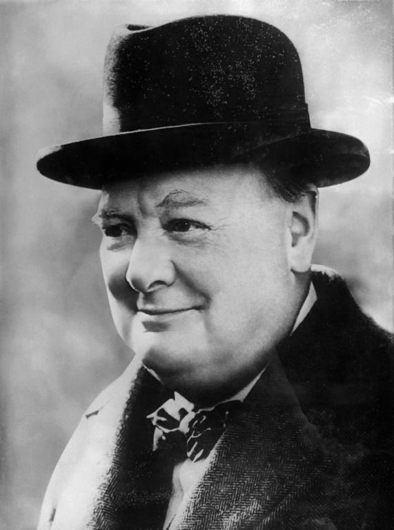Saviour: British prime minister Winston Churchill saved Chanel from the French Resistance