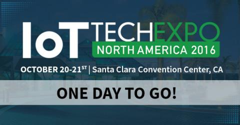 IoT Tech Expo: The Leading Internet of Things Events Arrives in Silicon Valley Tomorrow