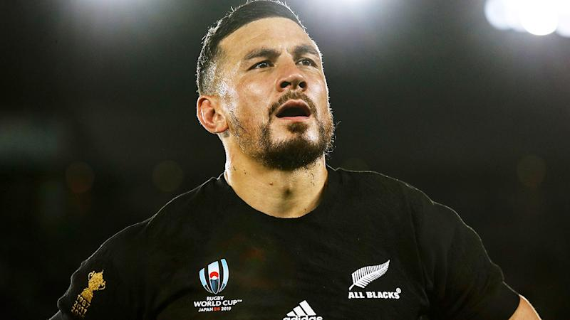 Sonny Bill Williams, pictured here in action for the All Blacks at the Rugby World Cup.