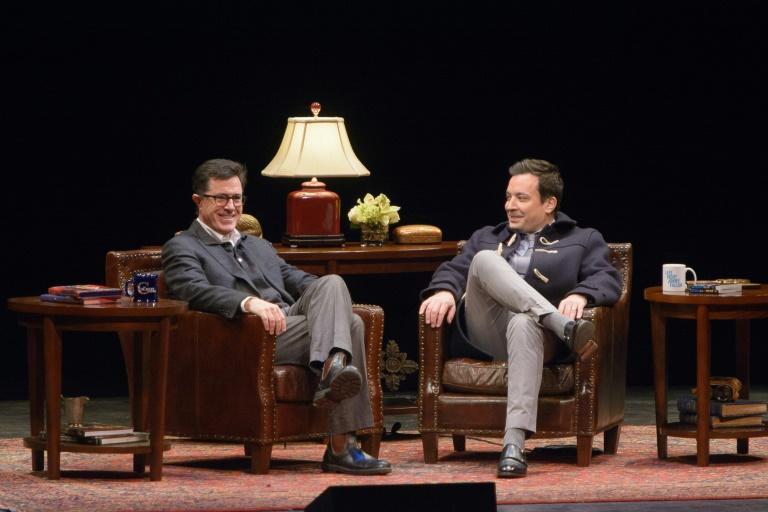 Late-night hosts such as Stephen Colbert and Jimmy Fallon have taken to broadcasting from their homes due to the coronavirus lockdown