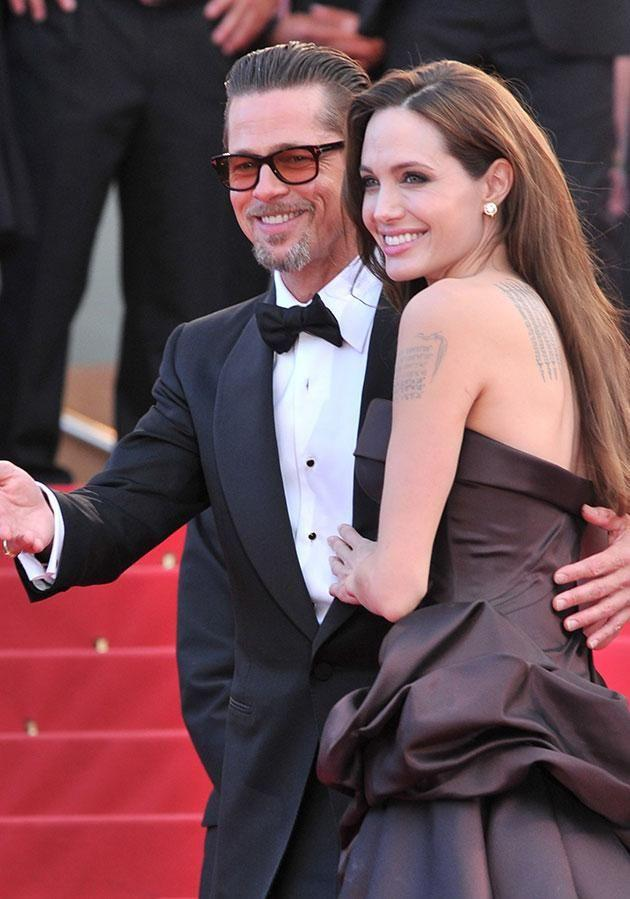 The mum-of-six added her decision to file for divorce was influenced by her work on her new movie. Source: Getty