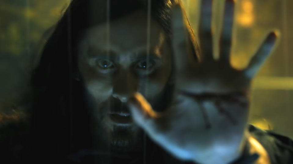 Jared Leto plays the title role in 'Morbius'. (Credit: Sony)
