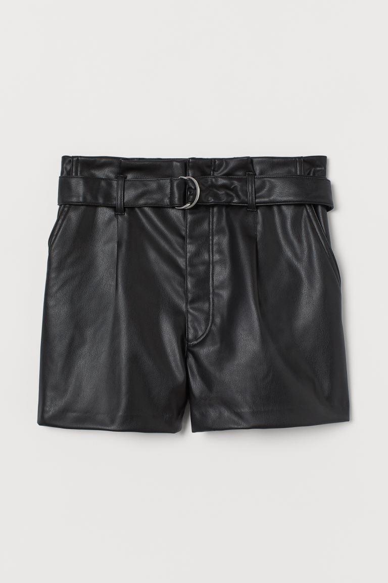 <p>These <span>Belted Leather Shorts</span> ($25) will become best friends with all your tops and sandals.</p>