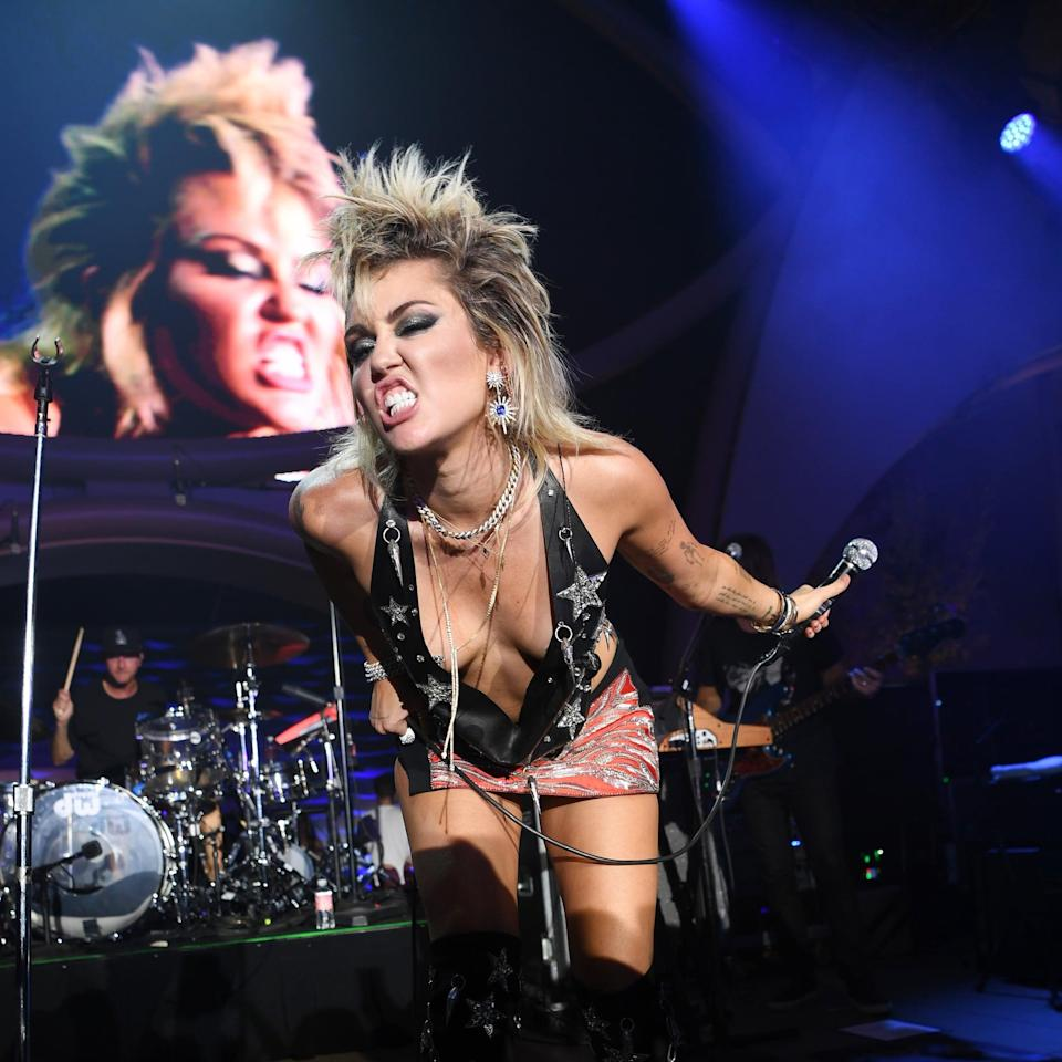 We Hope Miley Cyrus Never Gets Rid of Her '80s Mullet Haircut - It's Just Too Good
