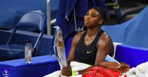 Tennis - WTA - Cincinnati - Cincinnati : Serena Williams s'effondre face à Maria Sakkari