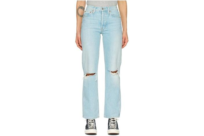 jeans, ripped, redone