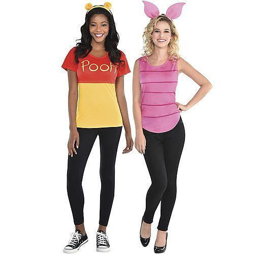 """<p>partycity.com</p><p><strong>$19.99</strong></p><p><a href=""""https://www.partycity.com/adult-pooh-and-piglet-costume-accessory-kits---winnie-the-pooh-G842202.html?cgid=couples-costumes-movie"""" rel=""""nofollow noopener"""" target=""""_blank"""" data-ylk=""""slk:Shop Now"""" class=""""link rapid-noclick-resp"""">Shop Now</a></p><p>If your partner is also your best friend, then it only makes sense to dress up as the two classic besties from the Hundred Acres Wood. Plus, this costume is easy-peasy to put together. </p>"""