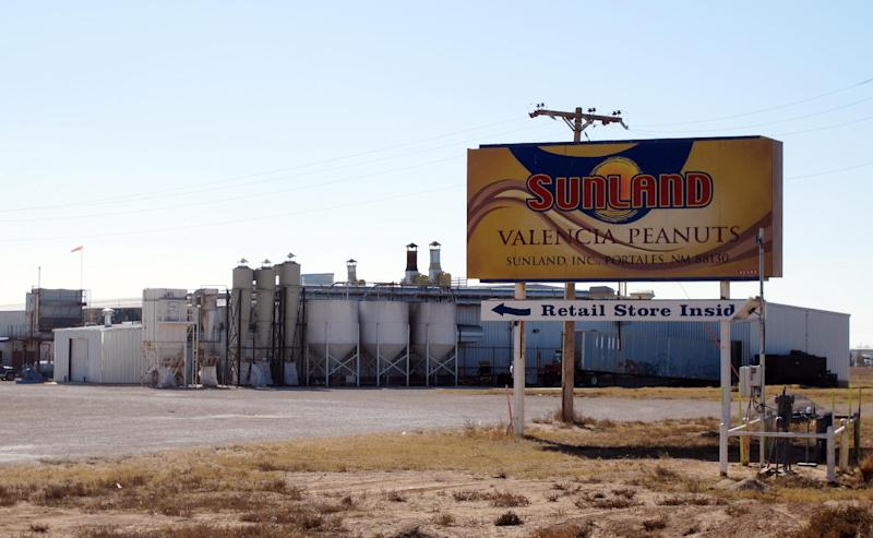 FILE - This Nov. 27, 2012 photo shows the Sunland Inc. peanut butter and nut processing plant in eastern New Mexico, near Portales. For the first time ever, the Food and Drug Administration used newly granted authority to shutter a company without a court hearing. In November, the government shut down Sunland Inc., the country's largest organic peanut butter processor, after repeated food safety violations and a salmonella-triggered recall of products that sickened dozens of people.  (AP Photo/Jeri Clausing, File)