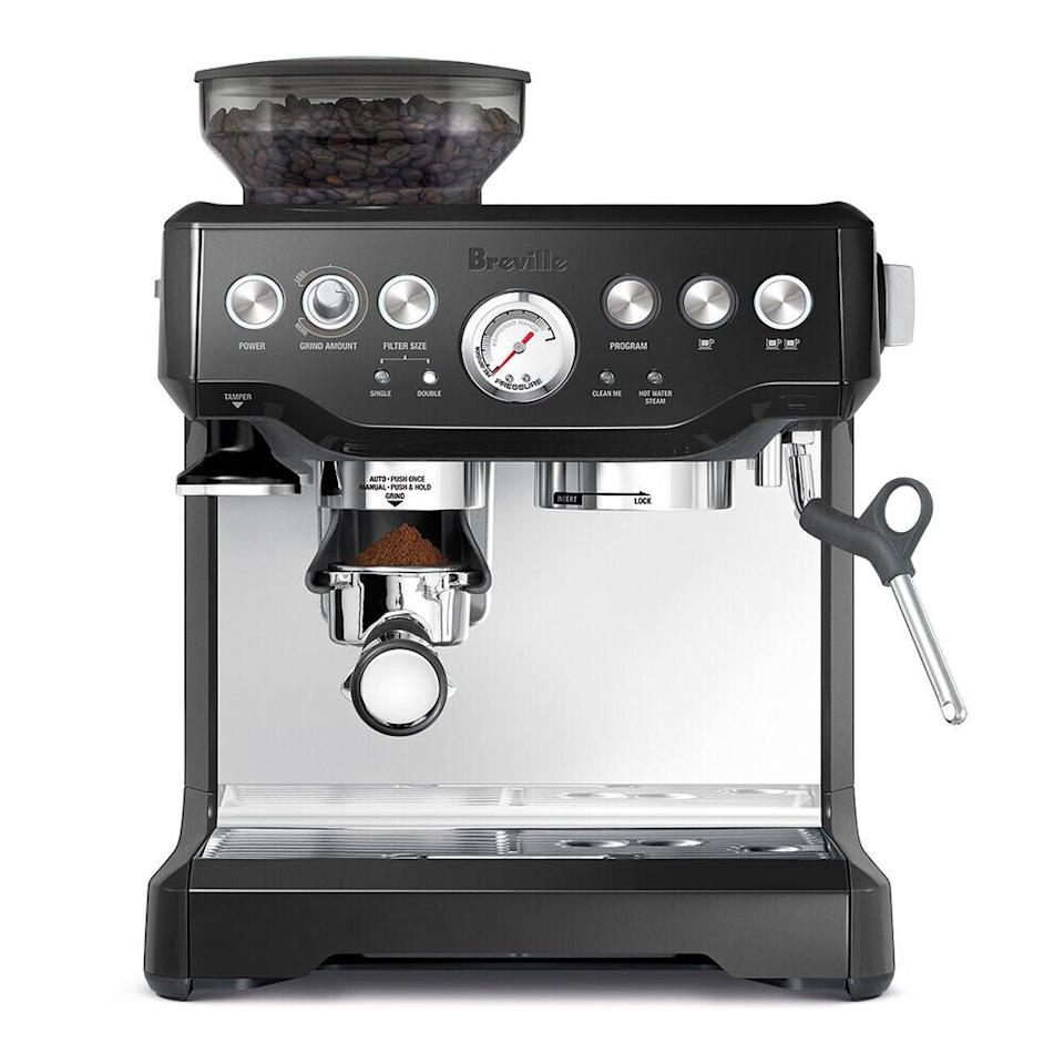 "Get the <a href=""https://fave.co/3l6ROLU"" target=""_blank"" rel=""noopener noreferrer"">Breville Barista Express Espresso Machine on sale for $700</a> (normally $1,000) at Sur La Table."