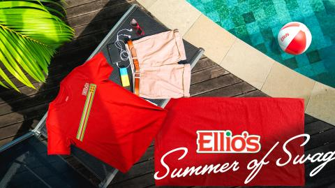 Ellio's Pizza Launches Ellio's Coolectables, Kicks off Summer of Swag