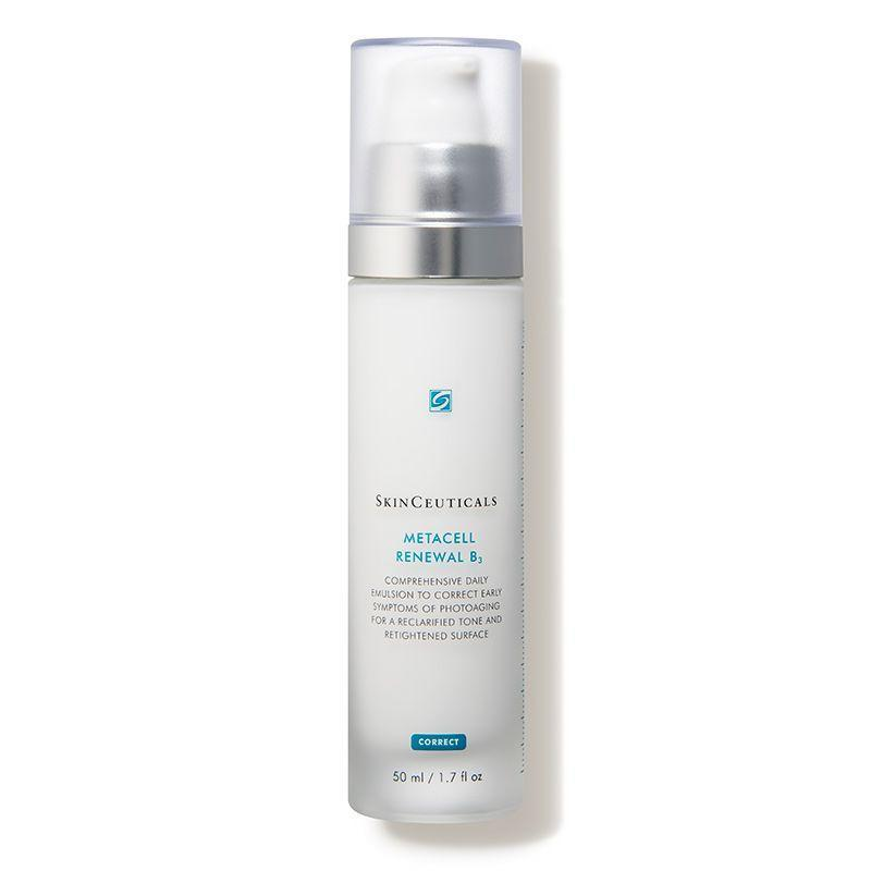"""<p><strong>SkinCeuticals</strong></p><p>dermstore.com</p><p><strong>$112.00</strong></p><p><a href=""""https://go.redirectingat.com?id=74968X1596630&url=https%3A%2F%2Fwww.dermstore.com%2Fproduct_Metacell%2BRenewal%2BB3_62798.htm%3FAID%3D13463631%26PID%3D100045652%26URL%3Dhttps%253A%252F%252Fwww.dermstore.com%252Fproduct_Metacell%252BRenewal%252BB3_62798.htm&sref=https%3A%2F%2Fwww.prevention.com%2Fbeauty%2Fskin-care%2Fg34339161%2Fbest-niacinamide-serums%2F"""" rel=""""nofollow noopener"""" target=""""_blank"""" data-ylk=""""slk:SHOP NOW"""" class=""""link rapid-noclick-resp"""">SHOP NOW</a></p><p>With 5% niacinamide to tackle spots on skin, peptides that plump, and hydrating-but-not-greasy glycerin, this product (a cross between a lotion and serum) <strong>makes skin look and feel renewed the second you smooth it on.</strong> Suitable for all skin types, the moisturizer is also sulfate-, paraben-, fragrance-, and phthalate-free.</p>"""