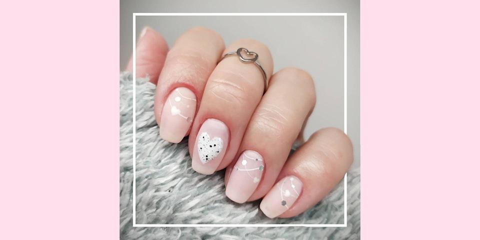 "<p>There are two types of people: those who cover their nails (<a href=""https://www.seventeen.com/fashion/style-advice/tips/g833/valentines-day-outfit-ideas/"" rel=""nofollow noopener"" target=""_blank"" data-ylk=""slk:and wardrobe"" class=""link rapid-noclick-resp"">and wardrobe</a>) in hearts at 12:01 am on February 1 and those who cringe at all the ruffled, pink, frivolousness of Valentine's Day. These nail designs are for <em>both</em> of those people. Yep, these ideas have <em>range</em>–from the wonderfully gaudy to super minimal designs. Here are the prettiest, coolest, and edgiest V Day nail art options on Instagram. </p>"