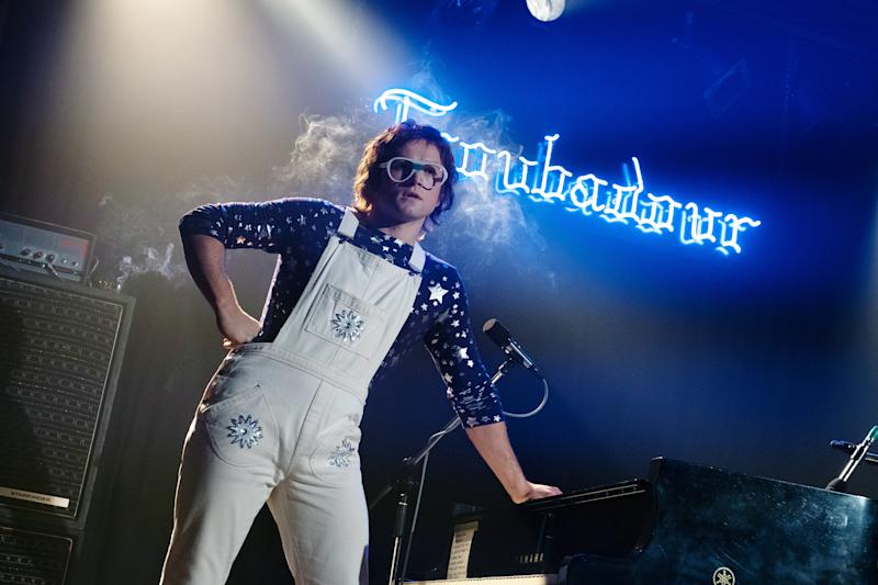 Taron Egerton stars as Elton John in 'Rocketman' (Photo: David Appleby / © Paramount / Courtesy Everett Collection)