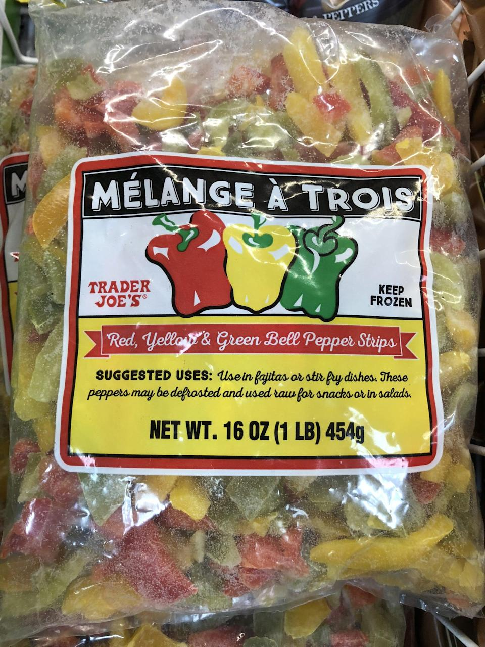 <p>Sauté a bag of these to add to cooked grains for lunches for the week.</p>