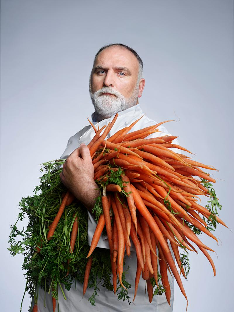 Andrés has won James Beard Foundation honors as outstanding chef and humanitarian | Martin Schoeller for TIME