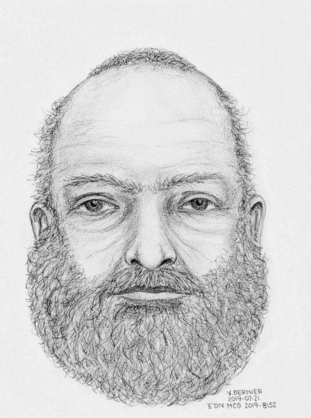 PHOTO: A composite sketch of an unidentified man found dead near the burning truck belonging to two missing teens, Kam McLeod and Bryer Schmegesky. (Royal Canadian Mounted Police)