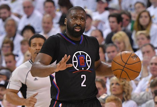"<a class=""link rapid-noclick-resp"" href=""/nba/players/3931/"" data-ylk=""slk:Raymond Felton"">Raymond Felton</a> should help keep the Thunder on track when <a class=""link rapid-noclick-resp"" href=""/nba/players/4390/"" data-ylk=""slk:Russell Westbrook"">Russell Westbrook</a> needs some rest. (Getty)"