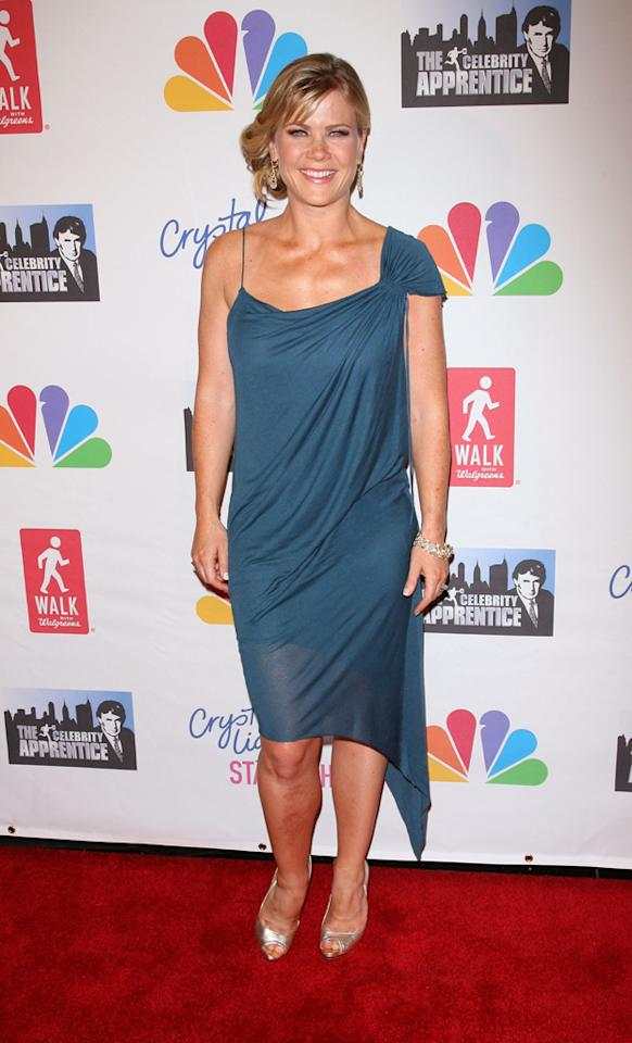 "Alison Sweeney attends the ""Celebrity Apprentice"" Live Finale at American Museum of Natural History on May 20, 2012 in New York City."