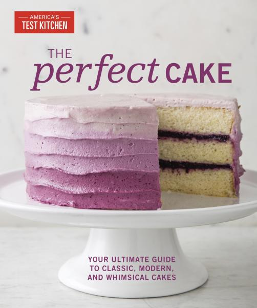 "This image provided by America's Test Kitchen in April 2019 shows the cover for the cookbook ""The Perfect Cake."" It includes a recipe for an Italian Almond Cake. (America's Test Kitchen via AP)"