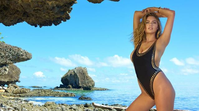 Kate Upton was photographed by Yu Tsai in Fiji. Swimsuit by d.bleu.dazzled acfb10520