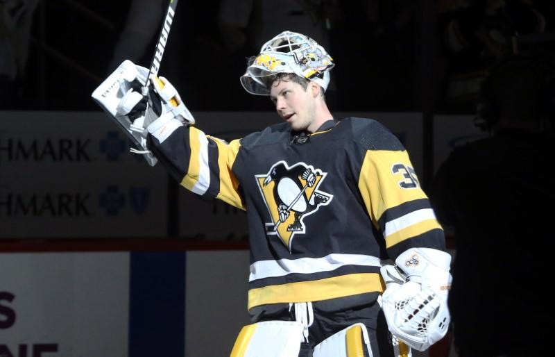 Penguins re-sign G Jarry to three-year deal