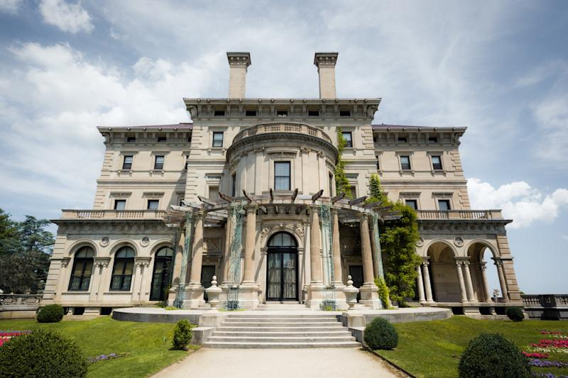 The Breakers is located along the historic Cliff Walk in Newport.