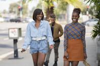 <p>If only Molly and Issa's friend date had gone a little better . . . but we have zero complaints about Molly's denim-on-denim Iro outfit she wears for the occasion. </p>
