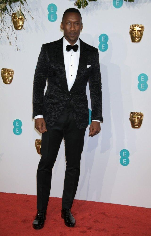 Mahershala Ali at the EE British Academy Film Awards