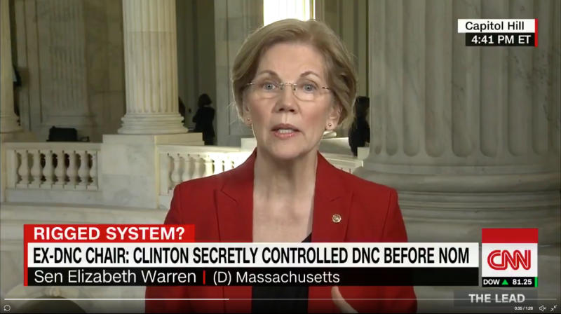 Elizabeth Warren Says 2016 Democratic Nomination Rigged For Hillary Clinton