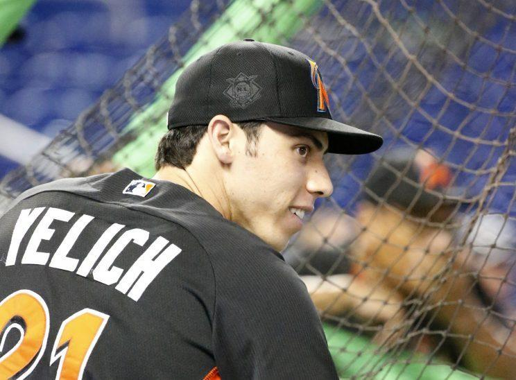 Christian Yelich really enjoyed proving people wrong in 2016/ (AP)