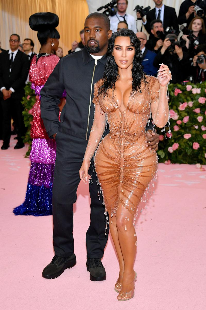 Kardashian, with West, at the 2019 Met Gala. (Photo: Dia Dipasupil via Getty Images)