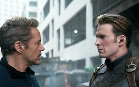 Robert Downey Jr and Chris Evans in Avengers: Endgame - Credit: marvel