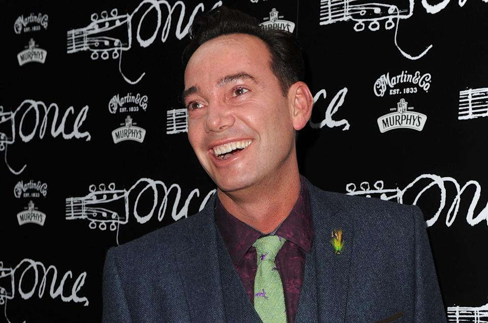 Craig Revel Horwood attending the opening night of Once at the Phoenix Theatre, London. (Photo by Anthony Devlin/PA Images via Getty Images)