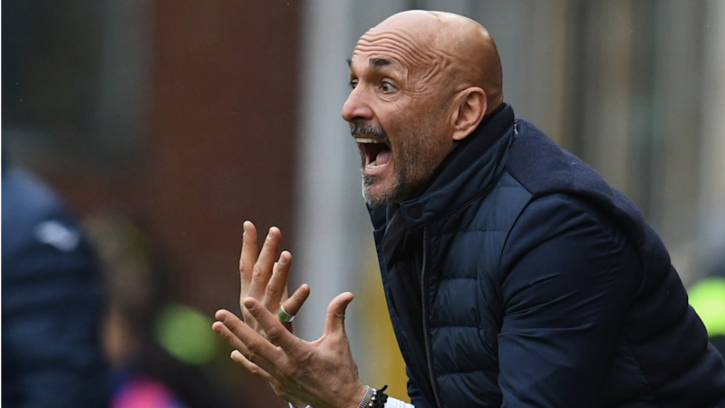 Constant compliments guarantee defeat, claims Inter boss Spalletti
