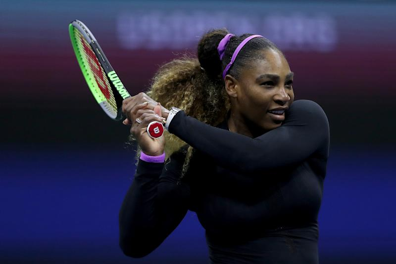 Serena Williams was dominant in defeating Maria Sharapova at the U.S. Open. (Getty)