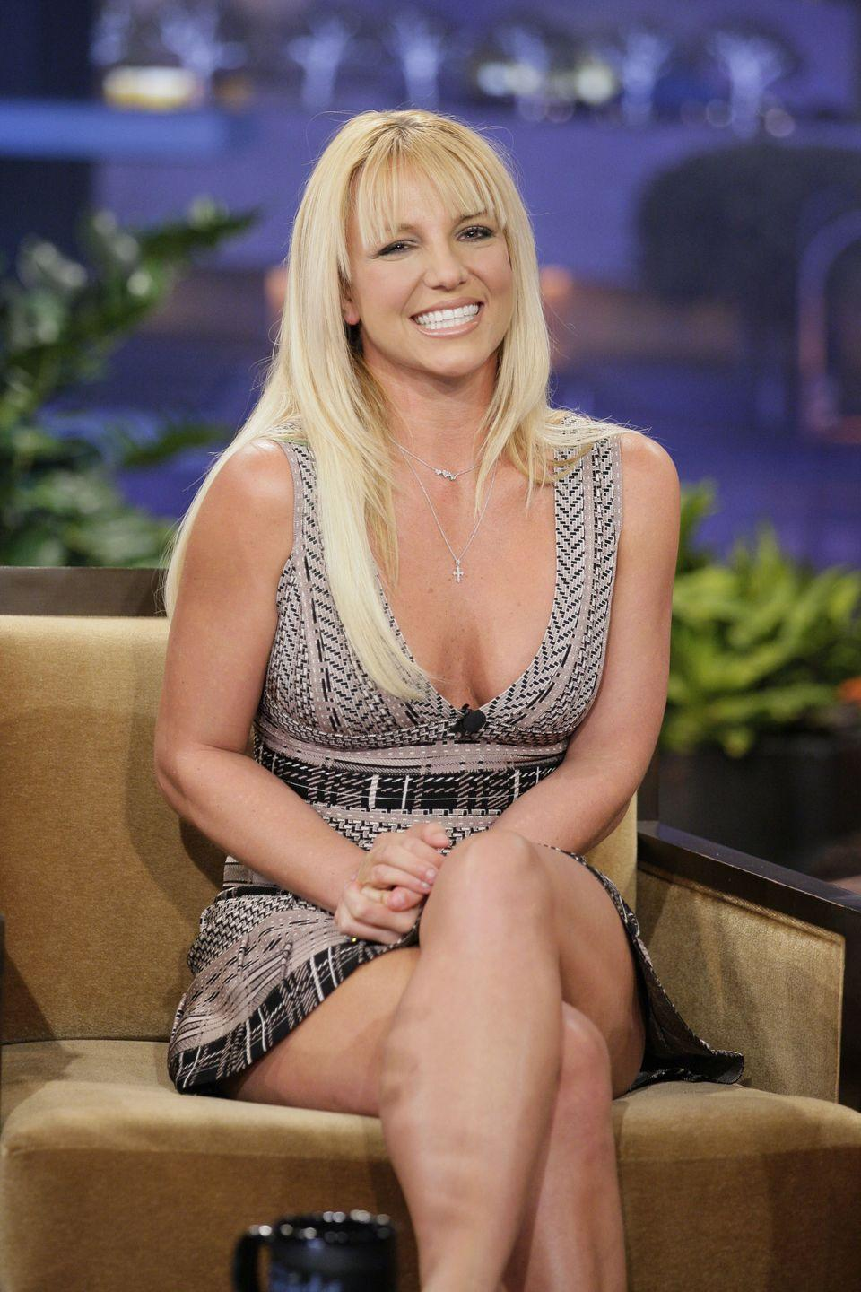 <p>A <em>Tonight Show With Jay Leno </em>appearance called for a new blunt bang cut.</p>