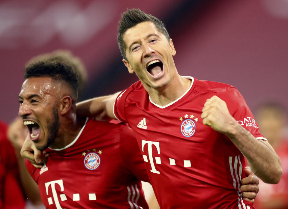 Expect Robert Lewandowski and Bayern Munich to boss around Group A in the Champions League. (AP Photo/Matthias Schrader)