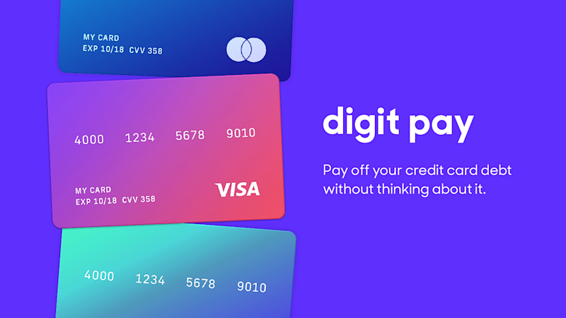 Digit's first move beyond saving money is a feature to pay down credit card debt