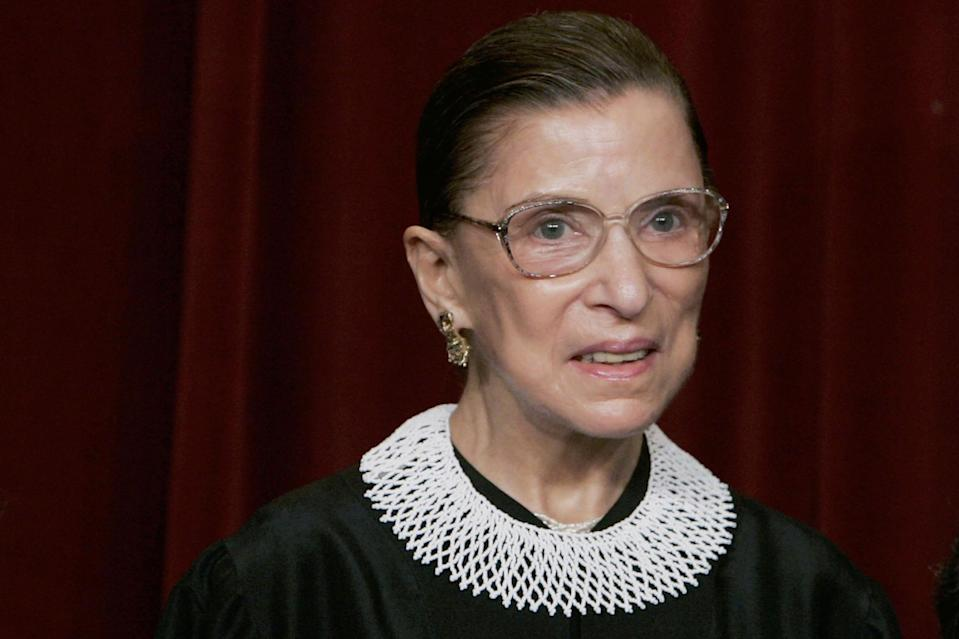 Ruth Bader Ginsburg says time in history will be seen as 'an aberration' (Getty)