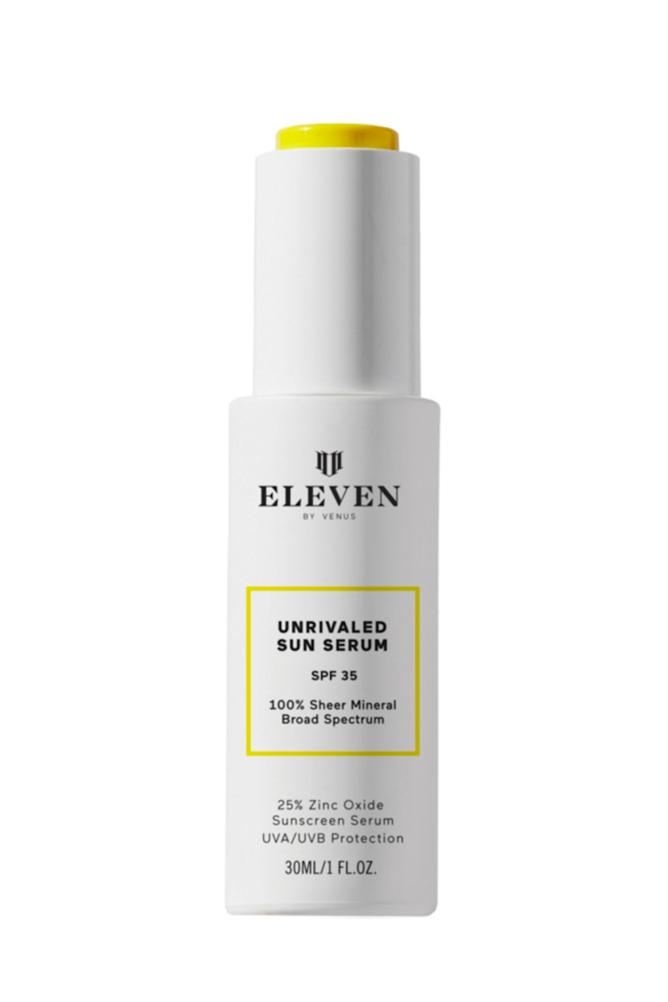"""<p><strong>EleVen by Venus Williams</strong></p><p>ulta.com</p><p><strong>$50.00</strong></p><p><a href=""""https://go.redirectingat.com?id=74968X1596630&url=https%3A%2F%2Fwww.ulta.com%2Funrivaled-sun-serum-spf-35%3FproductId%3Dpimprod2018175&sref=https%3A%2F%2Fwww.cosmopolitan.com%2Fstyle-beauty%2Fbeauty%2Fg35993297%2Fpregnancy-safe-sunscreen%2F"""" rel=""""nofollow noopener"""" target=""""_blank"""" data-ylk=""""slk:Shop Now"""" class=""""link rapid-noclick-resp"""">Shop Now</a></p><p>I get it: Thick, creamy sunscreens aren't for everyone. This <strong>SPF <a href=""""https://www.cosmopolitan.com/style-beauty/beauty/g25360983/best-face-serum/"""" rel=""""nofollow noopener"""" target=""""_blank"""" data-ylk=""""slk:serum"""" class=""""link rapid-noclick-resp"""">serum</a> is <em>super</em> lightweight </strong>though—like, light enough that even sunscreen-haters will feel comfy wearing it daily. Bonus: There's no need to worry about a white cast with this pregnancy-safe sunscreen. It goes on clear and quickly dries down into a velvety finish.</p>"""