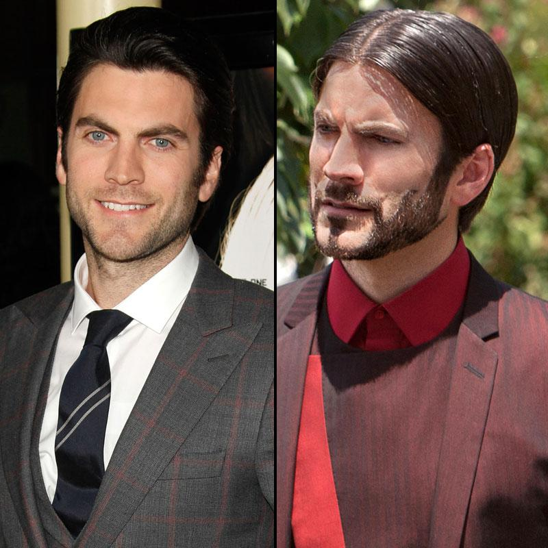 "Seneca Crane is the mastermind behind the Hunger Games with some seriously impressive facial hair. Wes Bentley, the actor who plays Seneca, said in <a target=""_blank"" href=""http://www.people.com/people/article/0,,20575002,00.html"">People Magazine</a> that he came in with a full beard, and over the course of three hours his makeup artist shaved the intricate shapes onto his face."