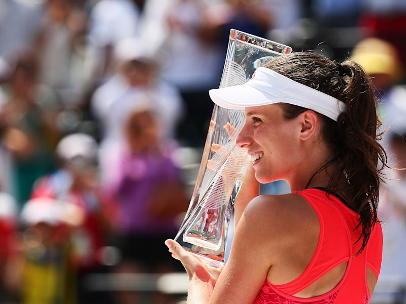 Konta's rise as one of the sport's best female players continues: Getty