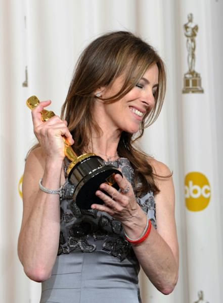"It wasn't until 2010, and Kathryn Bigelow's ""The Hurt Locker,"" that a woman won the Oscar for best director"