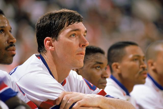 Bill Laimbeer and the rest of the Bad Boys Pistons developed a reputation during the late 80s. (Jonathan Daniel/Getty Images)